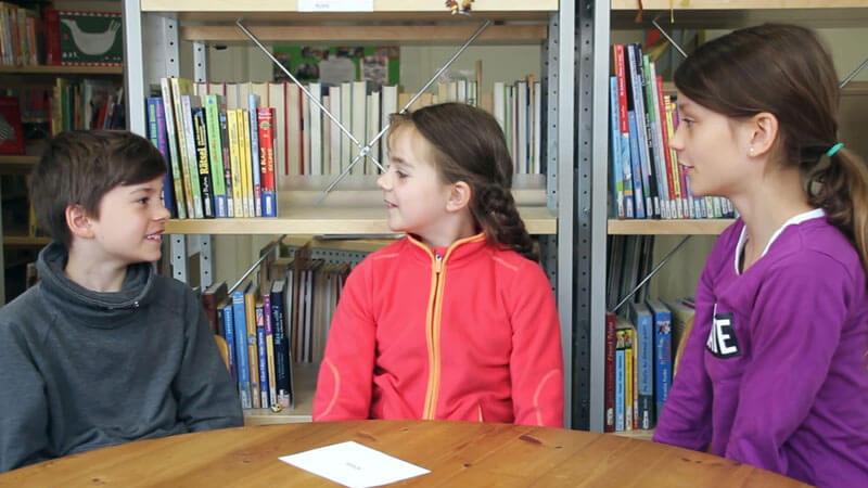 Schüler erklären Jenaplan
