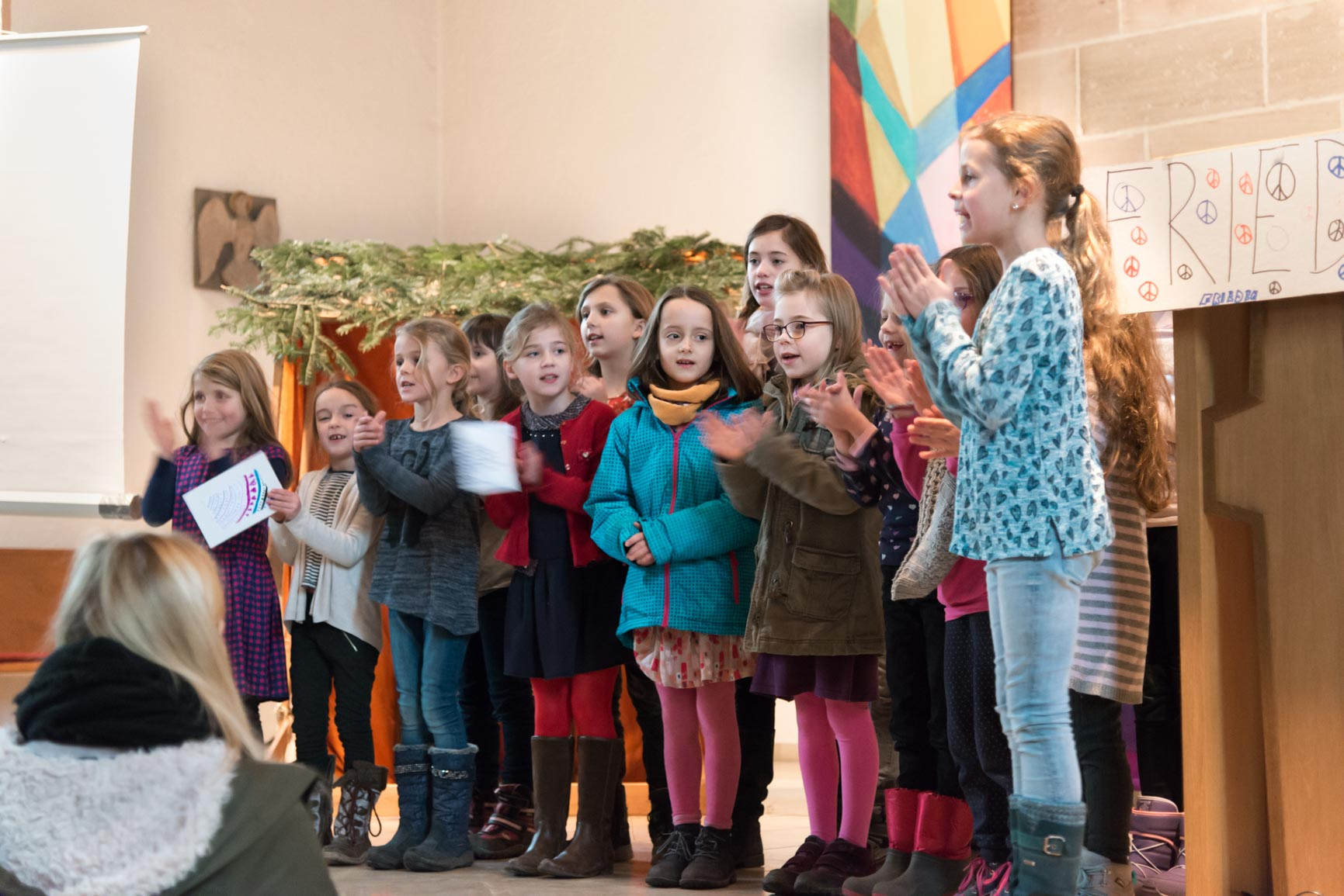 Ideen Programm Weihnachtsfeier.Weihnachtsfeier 2016 Jenaplan Schule Nürnberg
