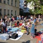 Flomarkt auf dem Jenaplan Schulhof