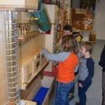 Kinder der Jenaplanschule im Kindermuseum